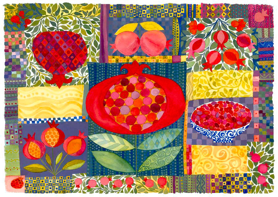 Pomegranate Quilt 2006