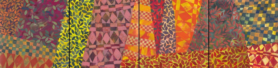 Pattern Quadritych by Chanan Mazal