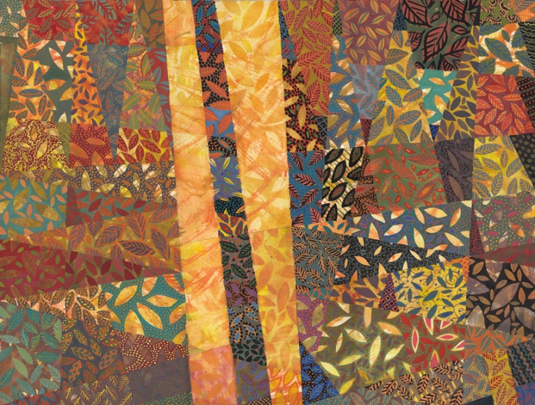 Gouache painting by Chanan Mazal, ציור גואש של חנן מזל