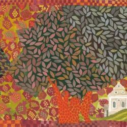 בית הכנסת בלומניץ 2014 ציור חנן מזל ירושלים