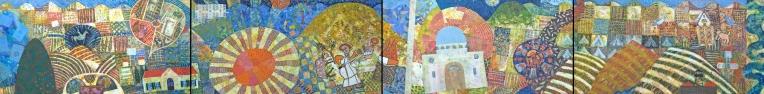 דממה ביזרעאל 2017, ציור גורש של חנן מזל, ירושלים