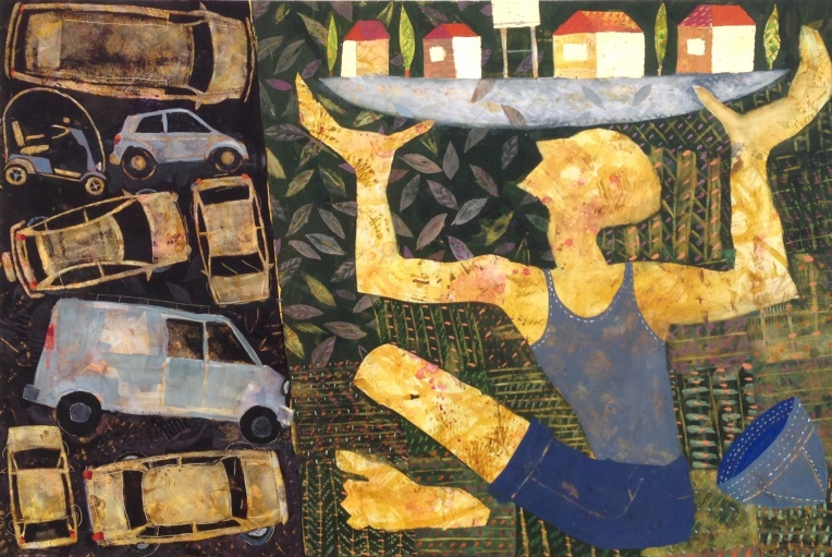 2018 Painting by Chanan Mazal, Jerusalem